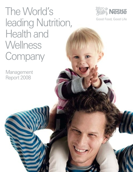 nestle management report example