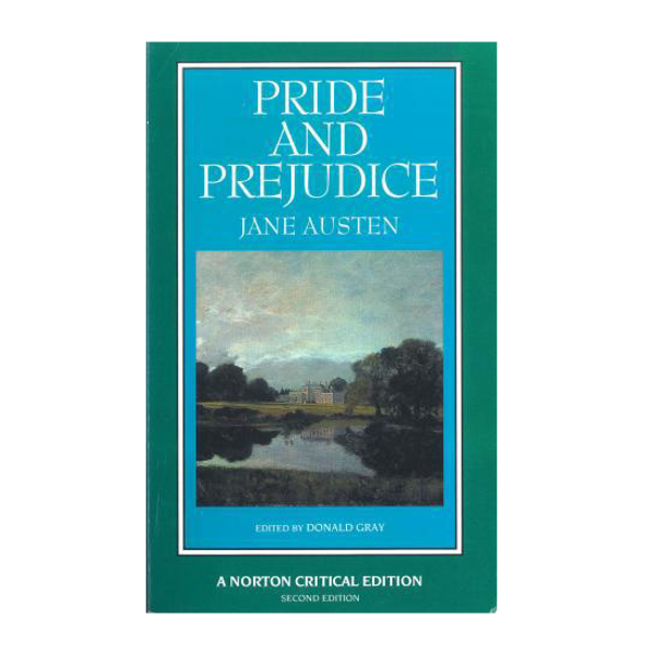 norton edition book cover of pride and prejudice