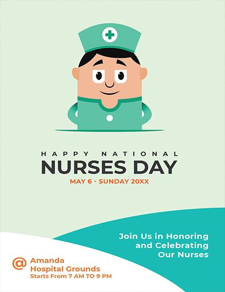 Nurses Day Invitation Sample