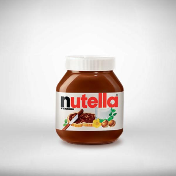 nutella spread product label