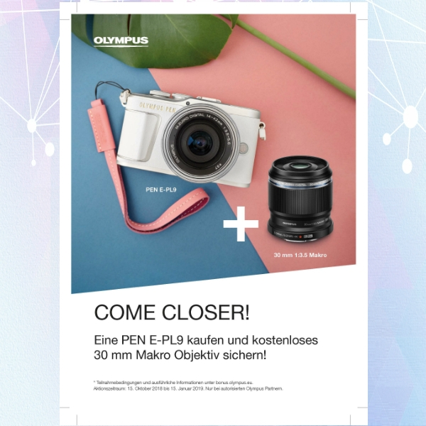 olympus camera photography flyer