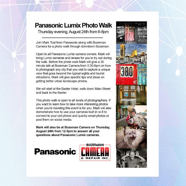 Panasonic Photo Walk Photography Flyer