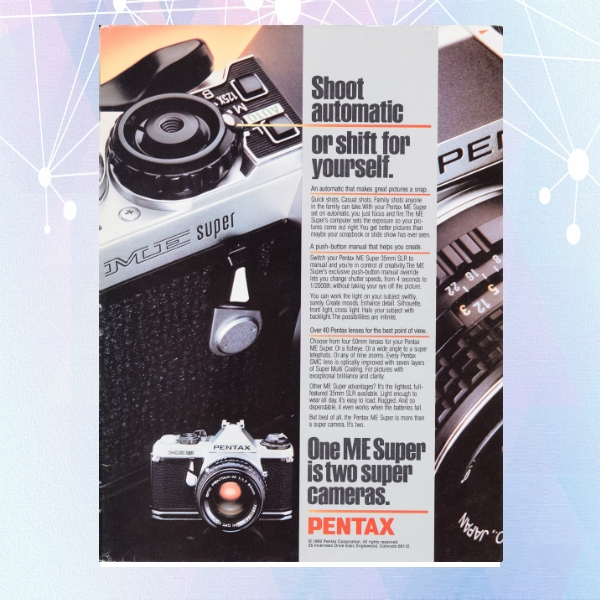 pentax automatic photography flyer