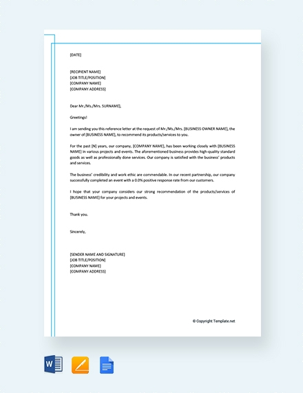 personal business reference letter1