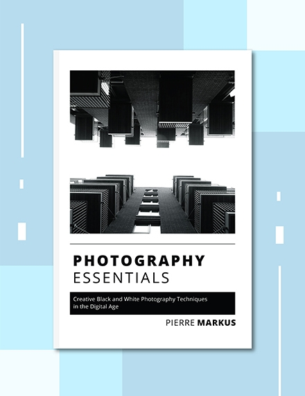 photography photo book cover