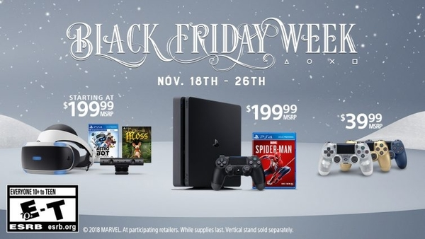 playstation black friday week poster