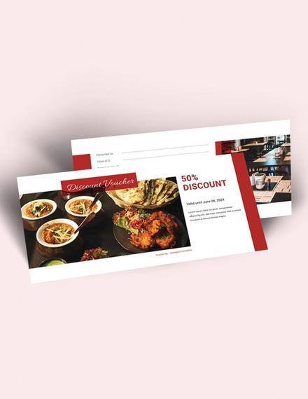 restaurant food voucher