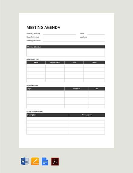 sample meeting agenda template1