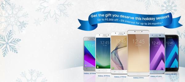 Samsung Elegant Christmas Newsletter