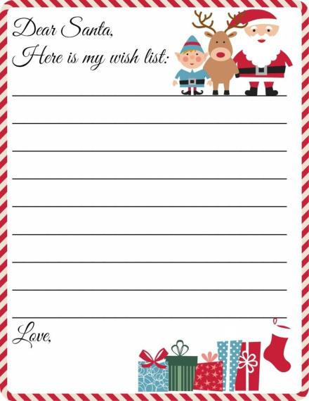 santa wish list
