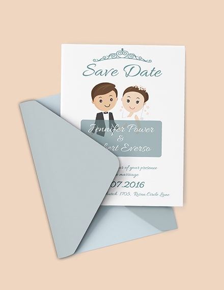 19+ Save the Date Invitation Examples, Templates, and Design ...