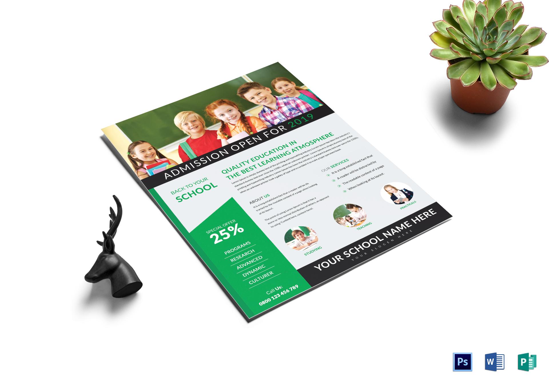 school best tutoring flyer