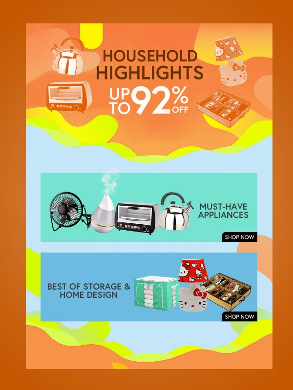 shopee big sale digital flyer