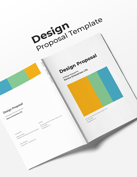 simple design proposal template