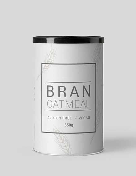 simple food label
