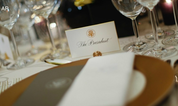 singapore state dinner place card