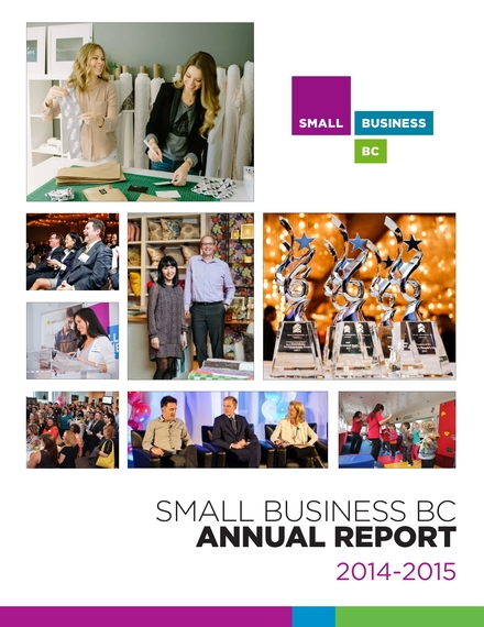 small business bc annual report example
