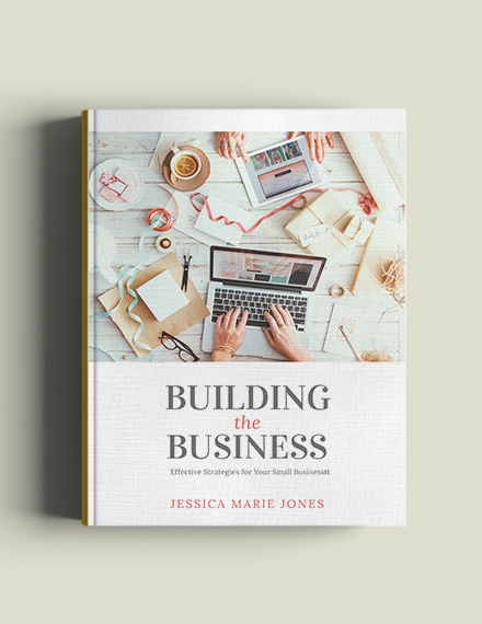 small business book cover template1