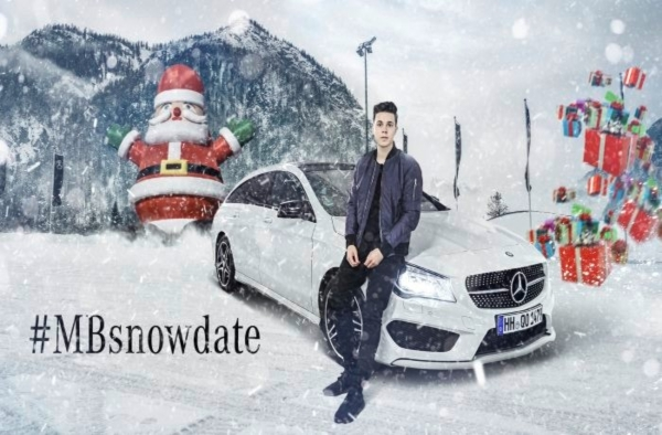 snow date christmas newsletter by mercedes benz