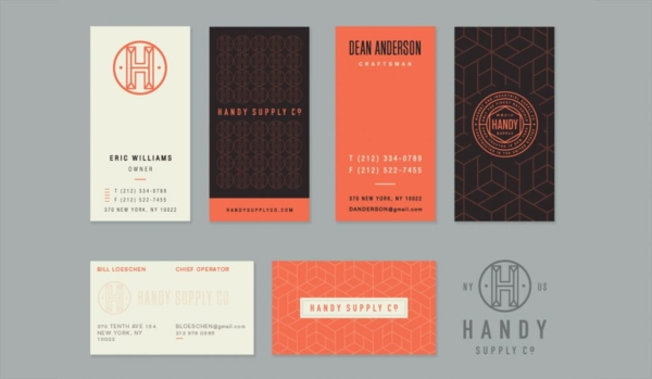 sophisticated business card examples 1
