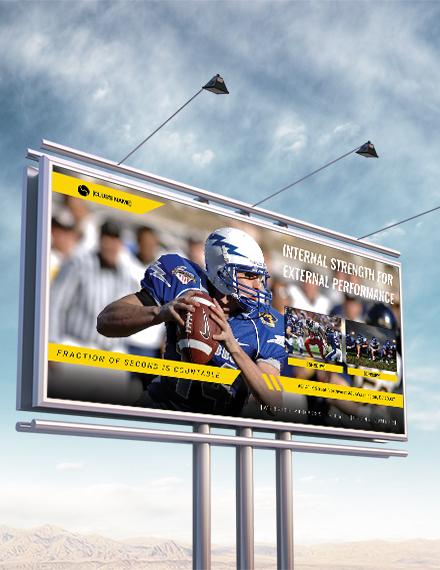 sports billboard banner