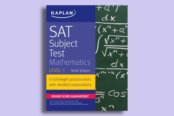 subject test mathematics book cover