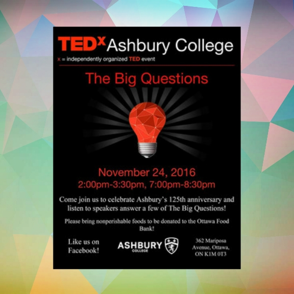 tedx ashbury college anniversary invitation1