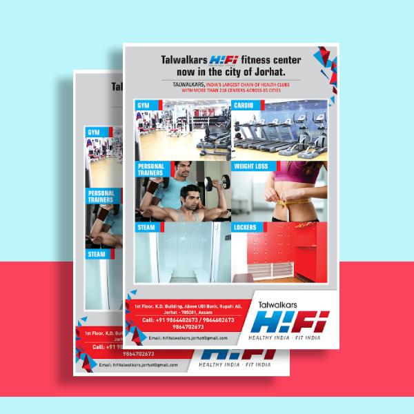 talwalkars hi fi fitness center flyer