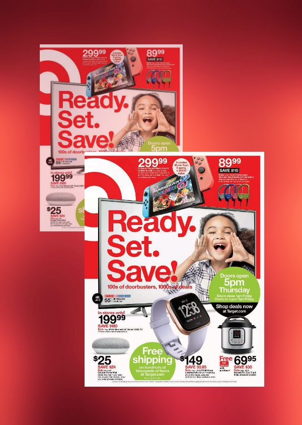 target big black friday sale flyer
