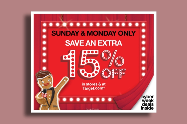 Target Cyber Monday Deal