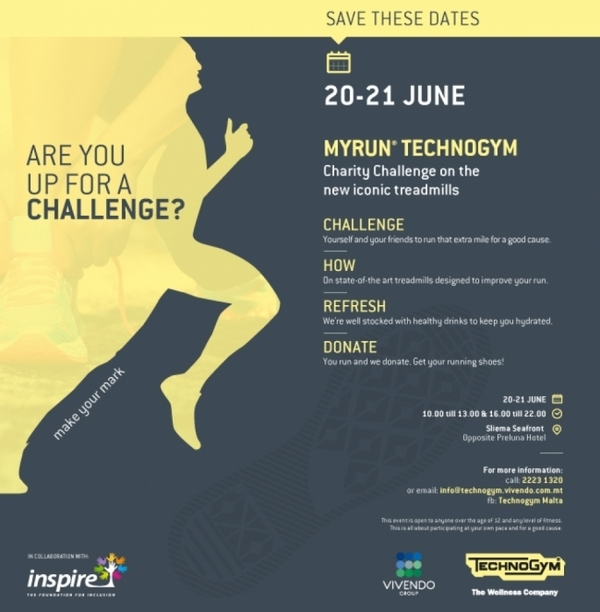 technogym challenge save the date