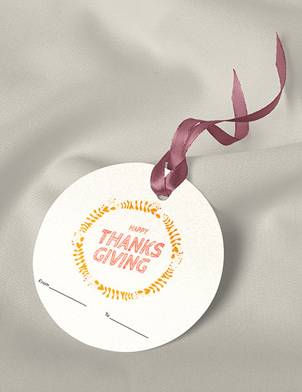 thanksgiving label template