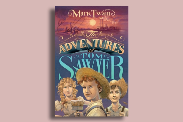 the adventure of tom sawyer book cover