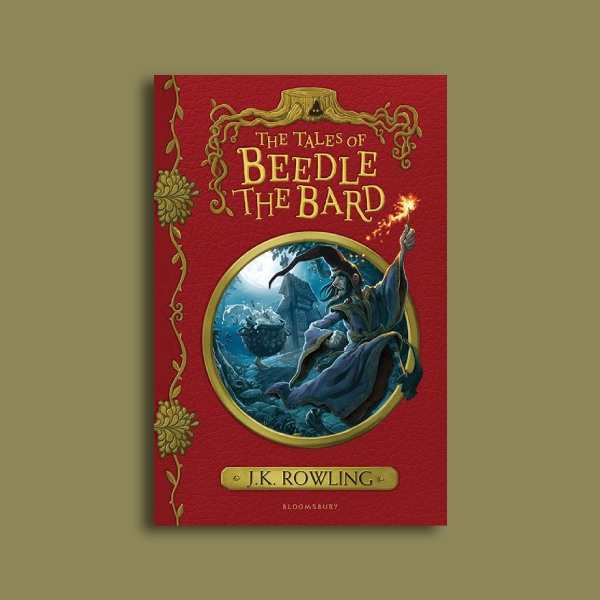 the tales of beedle the bard photo book cover