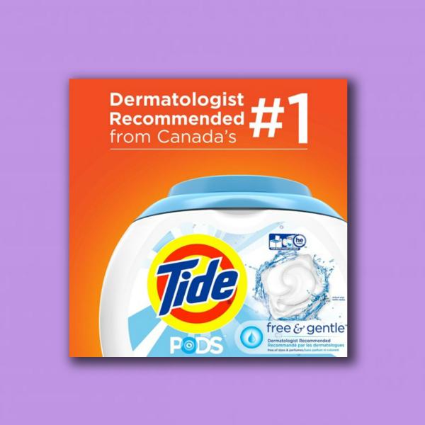 tide laundry detergent digital marketing flyer