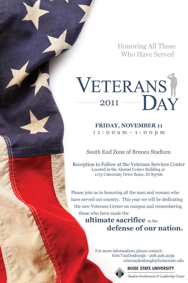 Veteran's Day Invitation
