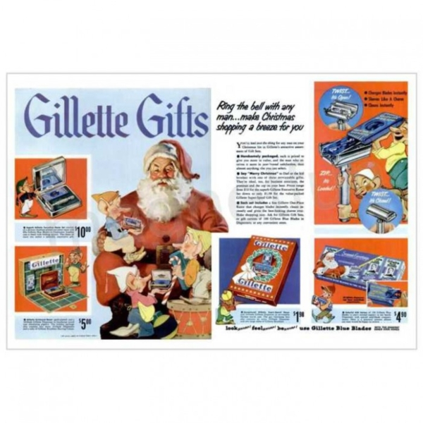 vintage gillette gifts newsletter