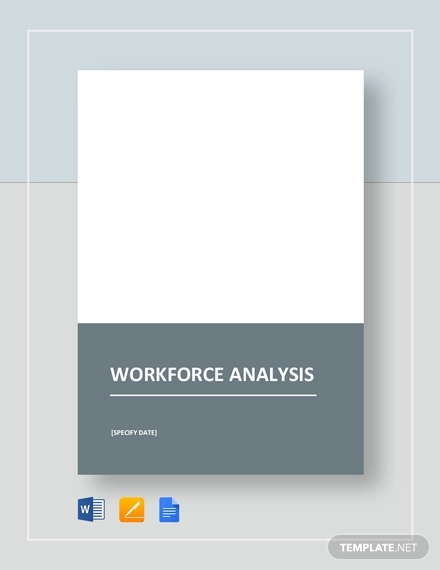 workforce analysis template