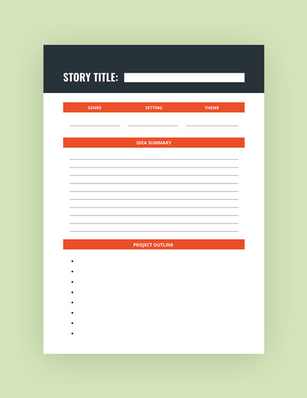 writer journal template