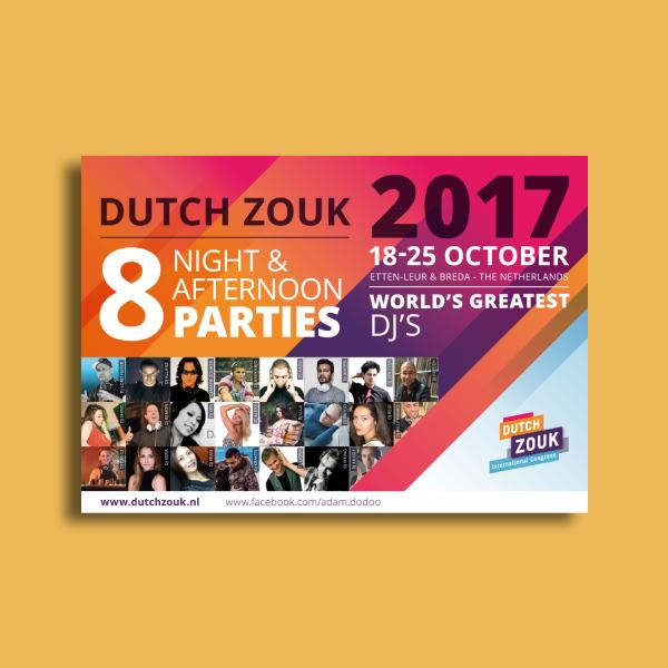 zuok party flyer