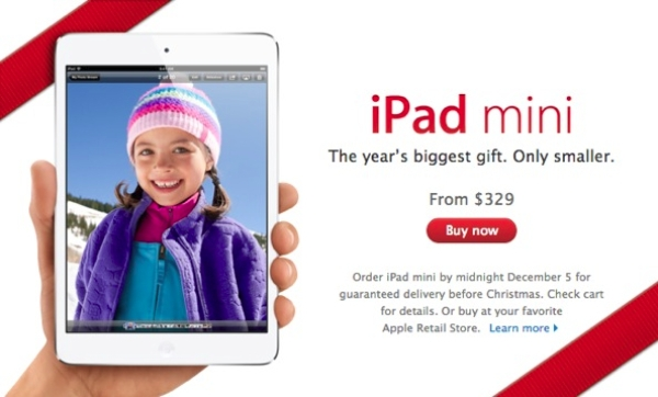 ipad mini christmas newsletter