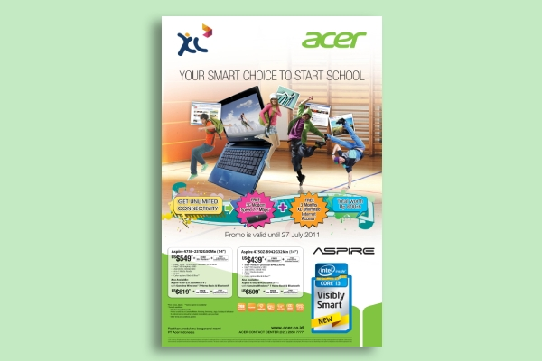 acer back to school poster