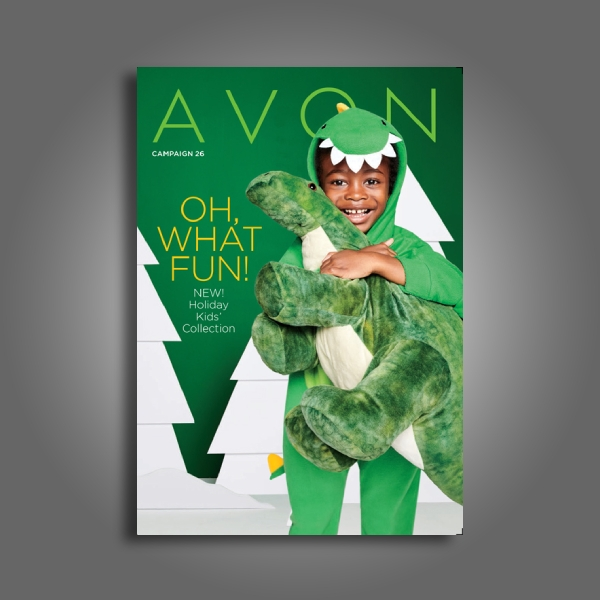 avon christmas brochure