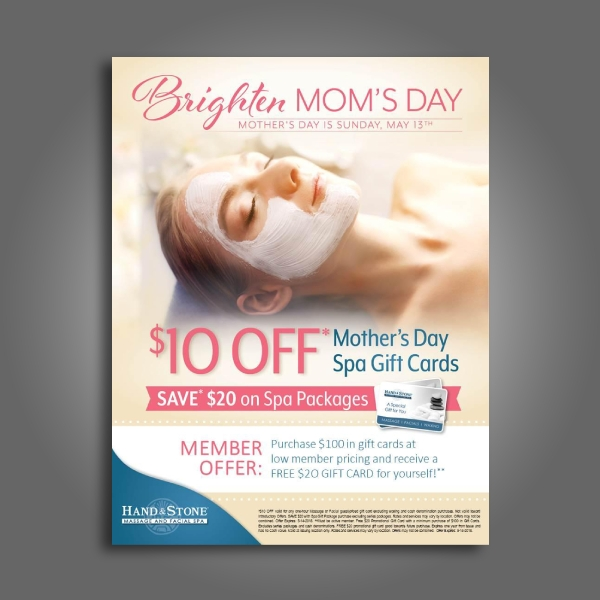 beauty spa and massage flyer