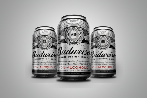 budweiser beer can label