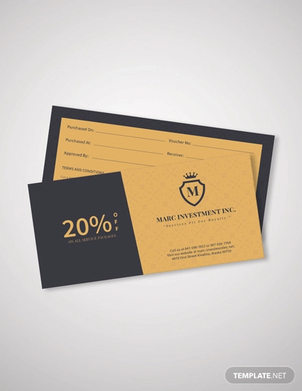 business discount coupon template1