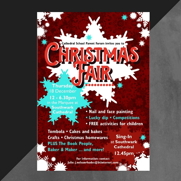 christmas fair invitation