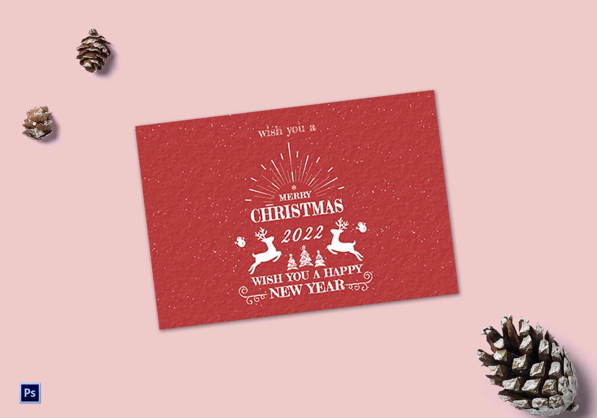 christmas and new year greeting card2