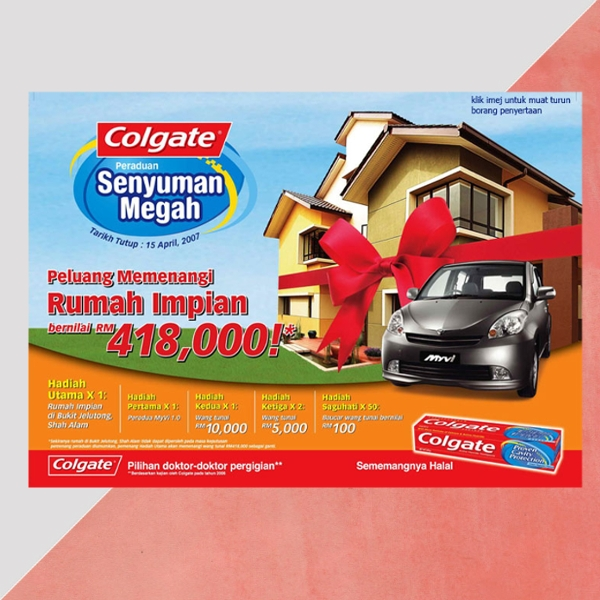 colgate malaysia poster