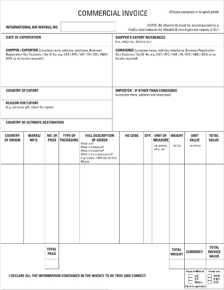 commercial invoice1